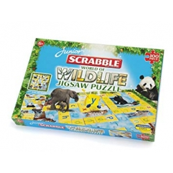 Scrabble Junior Wildlife Puzzle