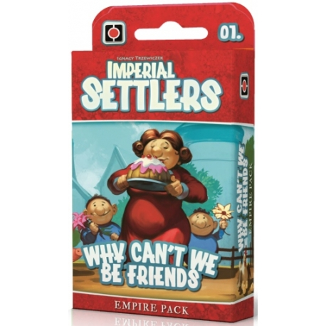 Why can't we be friends: Imperial Settlers exp
