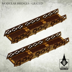Modular Bridges: Grated