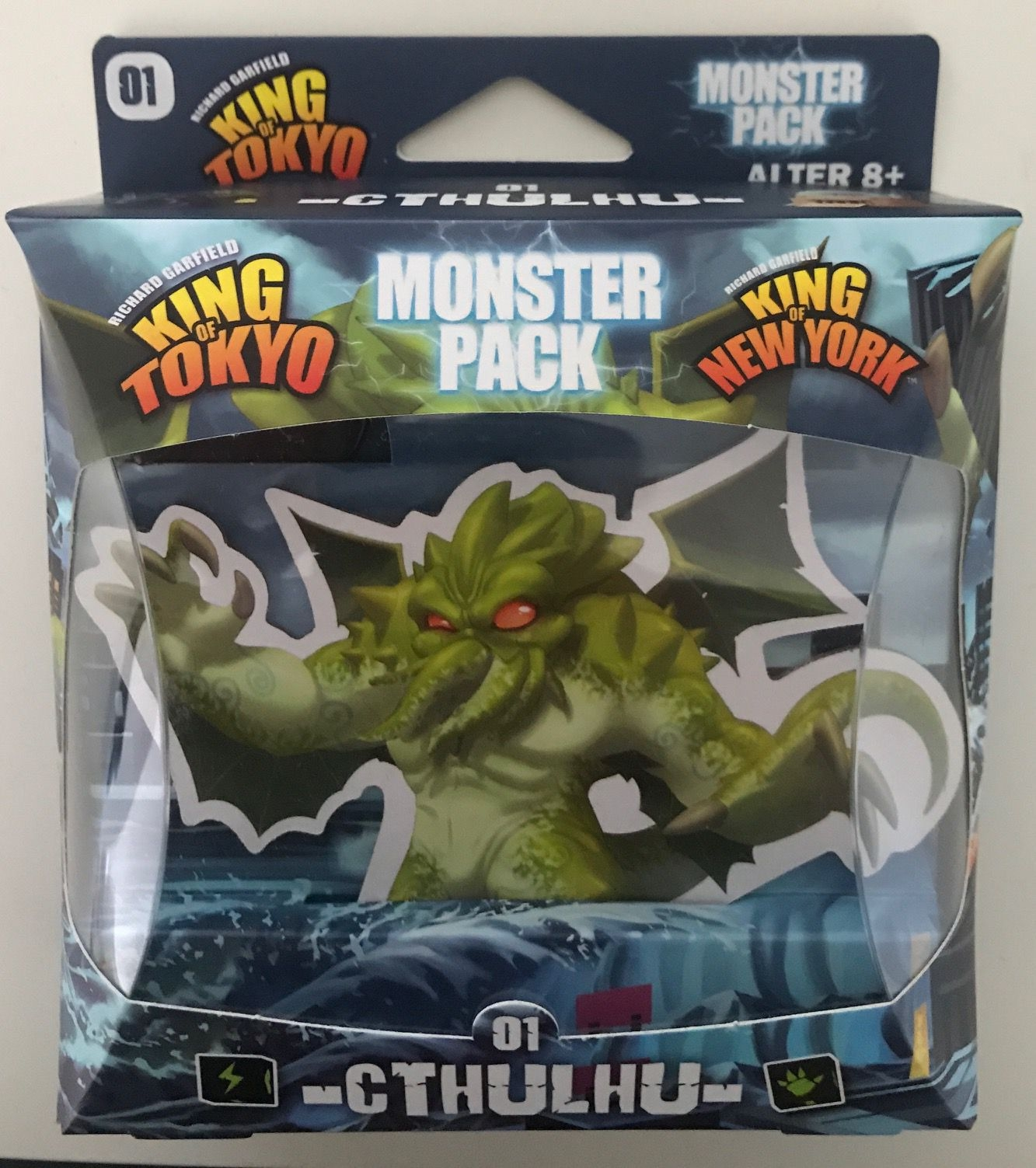Cthulhu Monster Pack: King of Tokyo Exp - Wayland Games