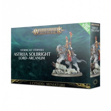 Easy To Build: Stormcast Eternals Astreia Solbright Lord-Arcanum