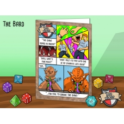 Hero Master Greeting Cards - The Bard