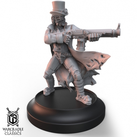 Warcradle Classics - Dr. Carpathian Alternate Sculpt