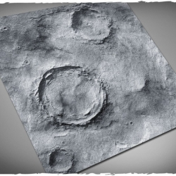 3ft x 3ft, Asteroid v2 Theme Mousepad Game Mat