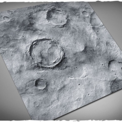4ft x 4ft, Asteroid v2 Theme PVC Game Mat