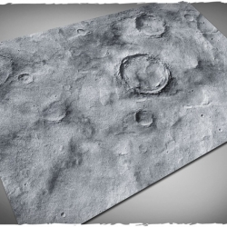 4ft x 6ft, Asteroid v2 Theme Mousepad Game Mat