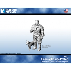 General George Patton with Willie