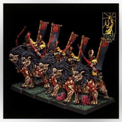 Dragon Empire Komainu Archers Cavalry