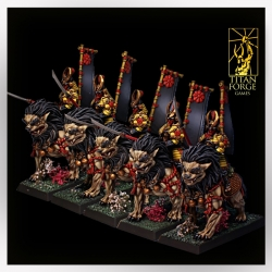 Dragon Empire Komainu Spearmen Cavalry