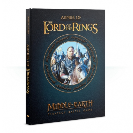 Armies Of The Lord Of The Rings Hardback - English