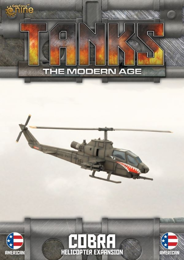 Gale Force Tanks The Mordern Age Helicopter Gazelle Expansion