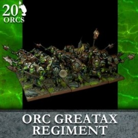 Orc Greataxe Regiment