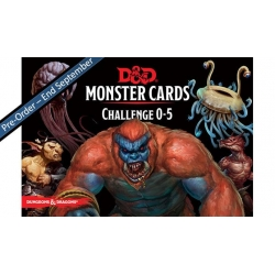 D&D: Monster Deck 0-5 (Eq 242 Cards)