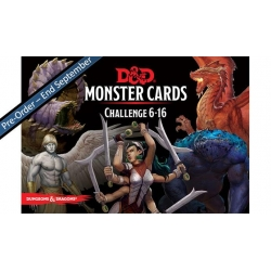 D&D: Monster Deck 6-16 (Eq 126 Cards)