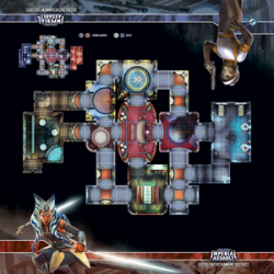 Star Wars Imperial Assault: Uscru Entertainment District Skirmish Map