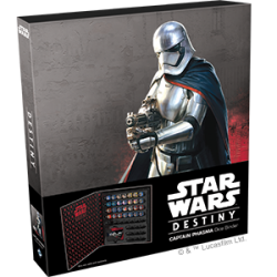 Star Wars Destiny: Captain Phasma Dice Binder