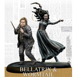 Bellatrix & Wormtail - Harry Potter Miniatures