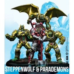 Steppenwolf & Parademons - Resin