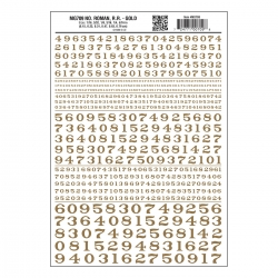 Numbers Roman R.R. Gold