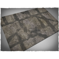 4ft x 6ft, Gothic Ruins Theme Mousepad Game Mat