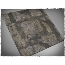 4ft x 4ft, Gothic Ruins Theme Mousepad Game Mat