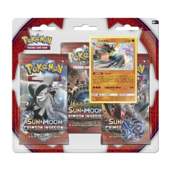 Pokemon TCG: Sun & Moon 4 Crimson Invasion Triple Pack Booster