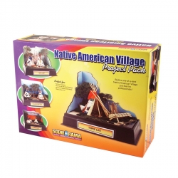 Native American Village Project Pack