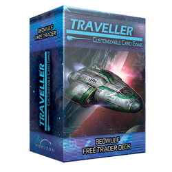 Traveller CCG: Ship Deck Beowulf Free Trader