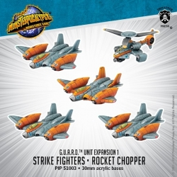 Strike Fighters & Rocket Chopper