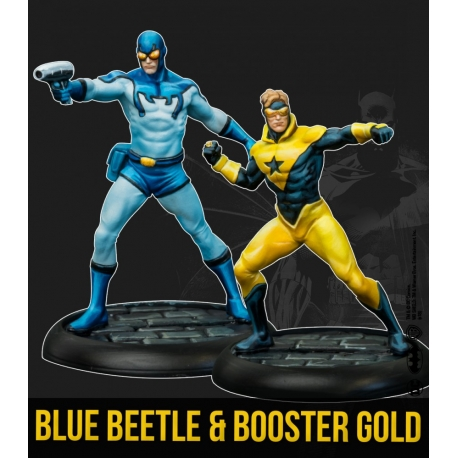 Blue Beetle & Booster Gold - Multiverse