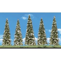 "2 "" - 3 1/2"" Classic Snow Dusted (5 / Pk)"