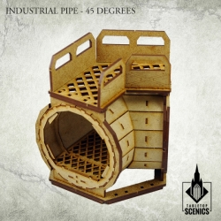 Industrial Pipe - 45 Degrees