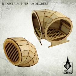 Industrial Pipe - 90 Degrees