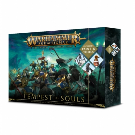 Age Of Sigmar: Tempest Of Souls + Paint - Italian