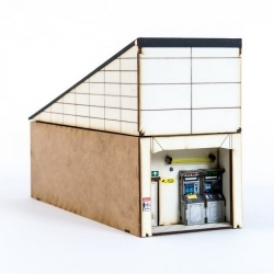 Shopping Mall 100mm Middle Security room / fire exit / ATMS
