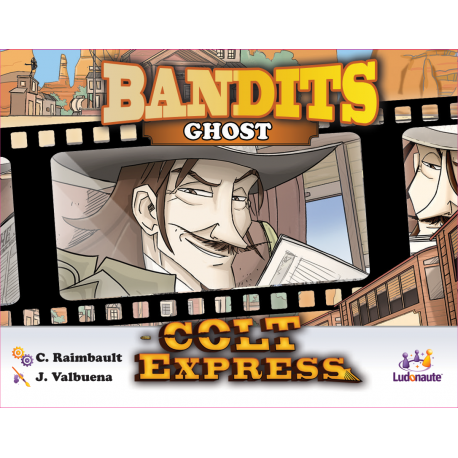 Colt Express Bandits Expansion - Ghost