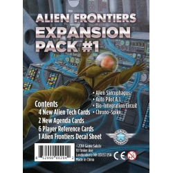 Alien Frontiers Expansion Pack No. 1