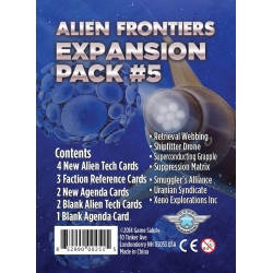 Alien Frontiers Expansion Pack No. 5