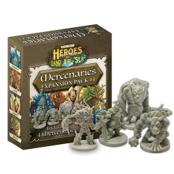 Heroes of Land Air & Sea: Merc Pack 1