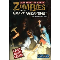 Last Night on Earth: Zombies with Grave Weapons