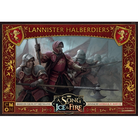 A Song Of Ice and Fire: Lannister Halberdiers