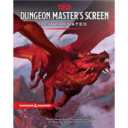 D&D Dungeon Master's Screen Reincarnated (DDN)