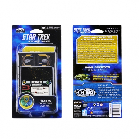 Star Trek Attack Wing: Romulan Drone Ship Card Pack (Wave 1)