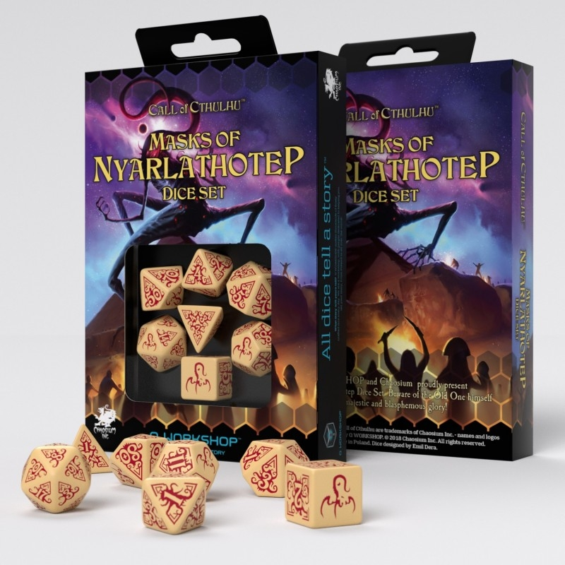 a place to call home box set call of cthulhu 7th edition black green dice set call of Call of Cthulhu: Masks of Nyarlathotep Dice Set