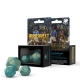 RuneQuest Turquoise & Gold Expansion Dice