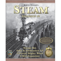 Steam: Rails to Riches Map Expansion No. 5