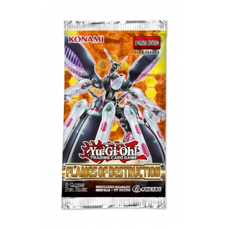 Yu-Gi-Oh TCG: Flames of Destruction 1st Edition Booster