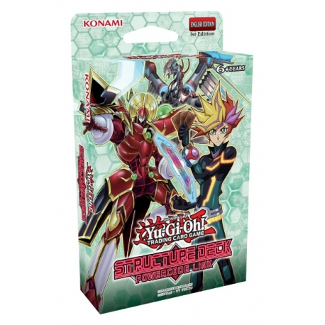 Yu-Gi-Oh TCG: Structure Deck Powercode Link
