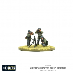 Blitzkrieg German Medium Mortar Team (1939-42) (Revised)