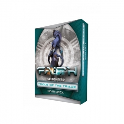FAITH: The Sci-Fi RPG Second Edition: Seedsheets Tools of the Trade I Gear Deck